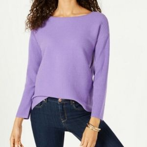 🆕️ Style & Co | Purple Ribbed Pullover Sweater